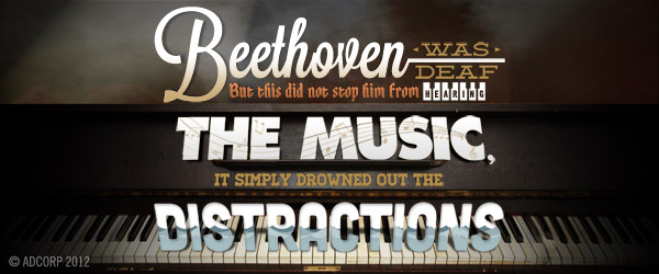 Hear the music - Beethoven by Patrick Galvin