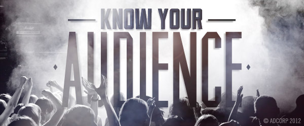 Know Your Audience by Patrick Galvin